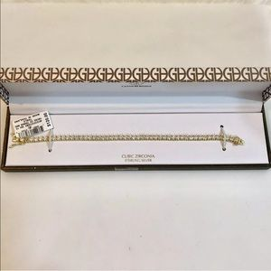 Giani Bernini Jewelry - Giani Bernini CZ Tennis Bracelet Missing 1 Stone